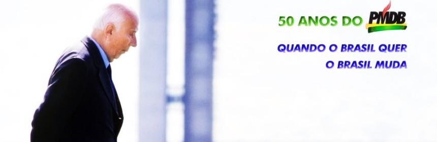 50 ANOS PMDB - ULYSSES
