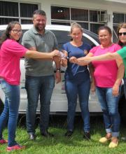 Prefeitura Honório Serpa realiza entrega de veículo para o conselho tutelar do município